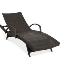 aldin outdoor adjustable lounge with arms