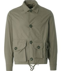 monitaly military service jacket type a | sage | m29007-sge