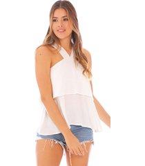blusa con boleros x49419