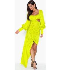 for love & lemons meringue maxi dress fodralklänningar