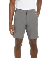 men's vintage 1946 heathered stretch hybrid shorts