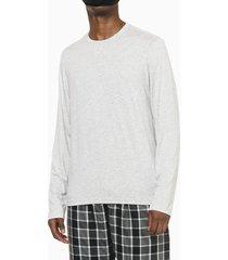 pijama m/l e calça de viscose xadrez - cinzaclaro - m