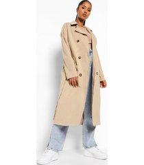 zwangerschap klassieke trench coat, camel