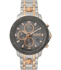 men's versus versace bicocca bracelet watch, 46mm