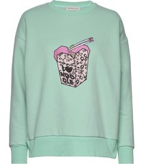 noodle sweatshirt sweat-shirt trui groen by malina