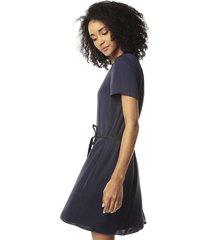 vestido azul navy tommy hilfiger