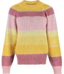 isabel marant étoile daniel striped mohair sweater