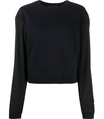 haider ackermann perth loose fit sweater - black