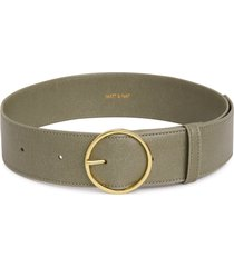 matt & nat ora wide belt, sage