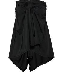 swim skirt & top baddräkt badkläder svart wiki