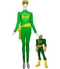 marvel x-men iron fist cosplay costume superhero bodysuit zentai catsuit custom