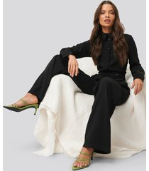 na-kd classic tailored jumpsuit - black