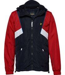 track jacket dun jack blauw lyle & scott