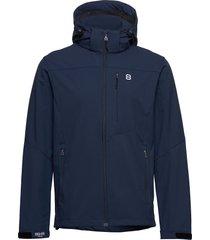 padore softshell jac outerwear sport jackets blå 8848 altitude