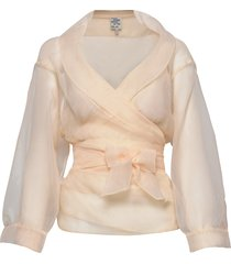 milou blouse lange mouwen roze baum und pferdgarten