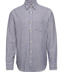 levon 5166 overhemd casual blauw nn07