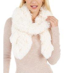 cejon shaggy faux-fur muffler scarf