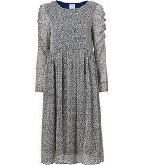 klänning viberin o-neck l/s midi dress