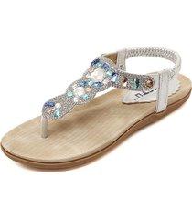 sandali infradito con banda elastica