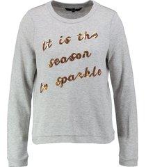 vero moda dunnere zachte grijze kerst sweater