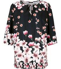 blouse m. collection zwart