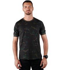 camiseta soldier treme terra multicam black - preto - masculino - algodã£o - dafiti