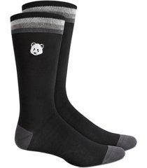 bar iii men's panda socks, created for macy's