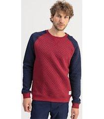 doorgestikte golfsweater voor heren/heide, maat m | puma