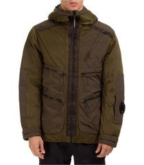 men's outerwear down jacket blouson hood j mesh lens