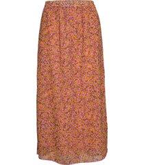 zahra long lång kjol orange fall winter spring summer
