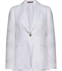 linen tencel sb blazer blazers casual blazers vit tommy hilfiger