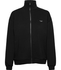 base woman zip sweat sweat-shirt tröja svart h2o