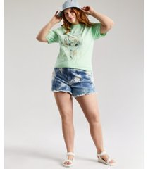love tribe plus trendy tinkerbell watercolor t-shirt