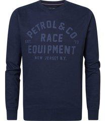 petrol industries sweater 5110 dark navy