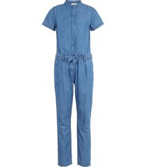 jumpsuit lichtgeweven denim