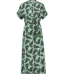 aaiko jurk aletta groen
