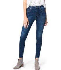 women's joe's the charlie high waist ankle skinny jeans, size 24 - blue