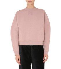t by alexander wang regular fit sweatshirt