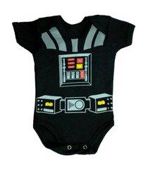 body bebe estampado geek body fantasia mesversario unissex enxoval bebe preto