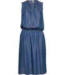 dresses denim dresses jeans dresses blå edc by esprit