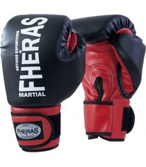 luva boxe muay thai fheras new orion pr/vm 14 oz