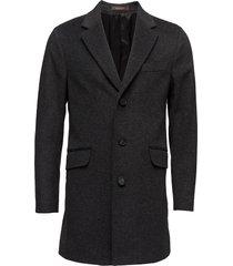 saks coat yllerock rock grå oscar jacobson