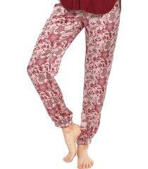 pantalón pijama rosa-fucsia bronzini éxito