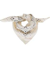 tory burch americana bandana neckerchief