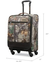 "american tourister real tree 20"" carry-on luggage"
