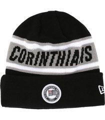 gorro new era corinthians preto/cinza - preto - dafiti