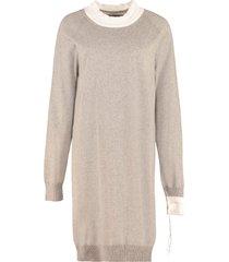 maison margiela knitted dress