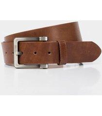 cinturón unifaz olmo de cuero para hombre básico