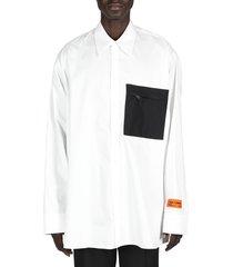 nylon pocket shirt