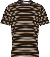 biferno t-shirt st 7913 t-shirts short-sleeved brun samsøe samsøe